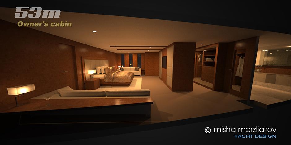 Internal boat design concept
