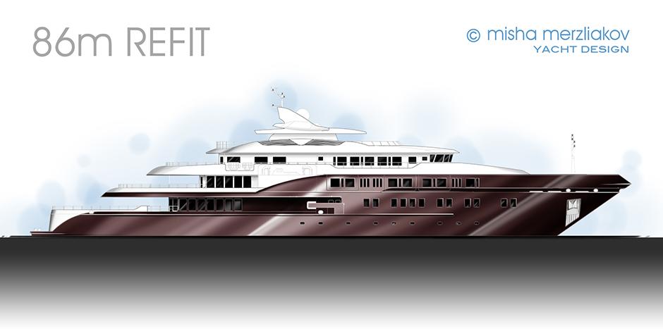 external boat design concept