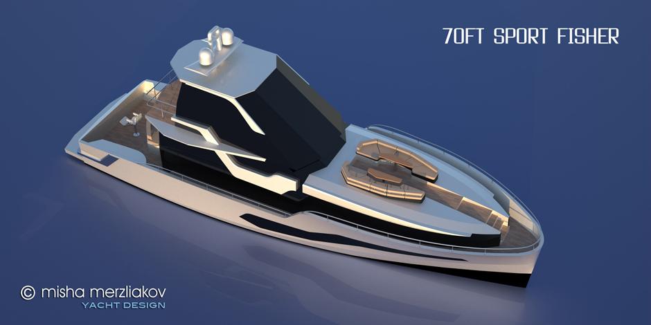 yacht design concept